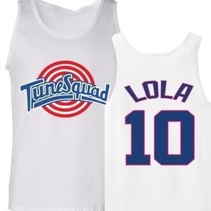 Shedd Shirts Tops - Lola Bunny Tune Squad Space Jam Tank Top Jersey
